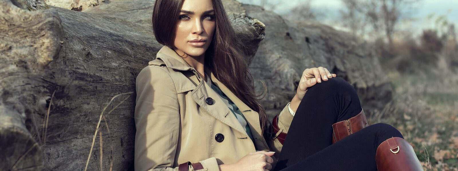 Fashion woman outdoor